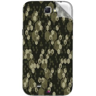 Snooky Printed Camouflage Camo patterns Pvc Vinyl Mobile Skin Sticker For Samsung Galaxy Note 2