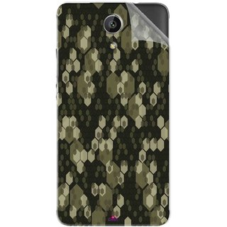 Snooky Printed Camouflage Camo patterns Pvc Vinyl Mobile Skin Sticker For Intex Aqua Freedom