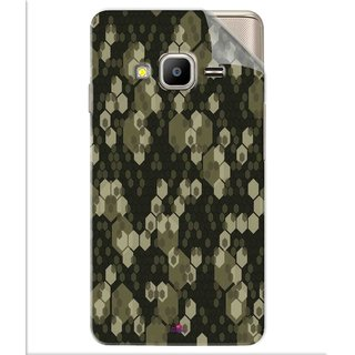 Snooky Printed Camouflage Camo patterns Pvc Vinyl Mobile Skin Sticker For Samsung Z2
