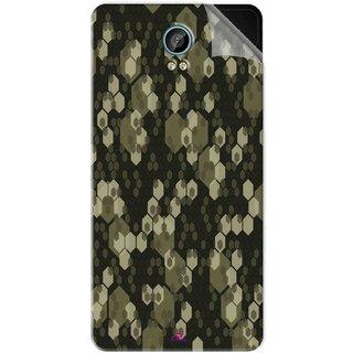 Snooky Printed Camouflage Camo patterns Pvc Vinyl Mobile Skin Sticker For Intex Aqua Life 2