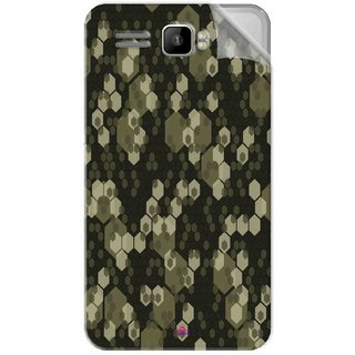 Snooky Printed Camouflage Camo patterns Pvc Vinyl Mobile Skin Sticker For Intex Aqua R3 Plus