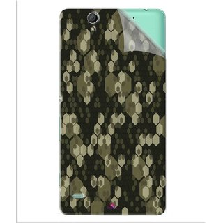 Snooky Printed Camouflage Camo patterns Pvc Vinyl Mobile Skin Sticker For Sony Xperia C4