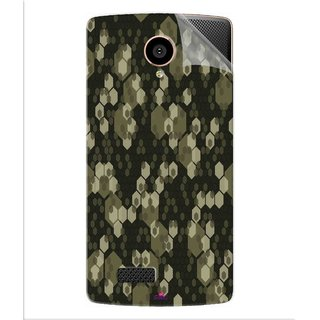 Snooky Printed Camouflage Camo patterns Pvc Vinyl Mobile Skin Sticker For LYF Flame 7