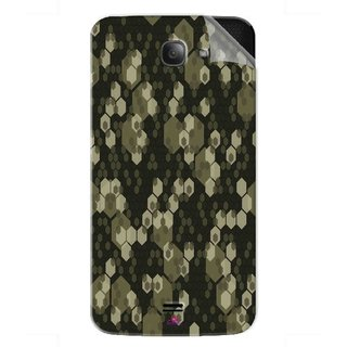 Snooky Printed Camouflage Camo patterns Pvc Vinyl Mobile Skin Sticker For Intex Aqua Wave