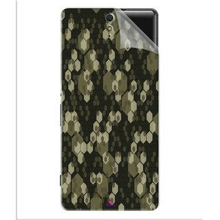 Snooky Printed Camouflage Camo patterns Pvc Vinyl Mobile Skin Sticker For Sony Xperia C5