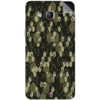 Snooky Printed Camouflage Camo patterns Pvc Vinyl Mobile Skin Sticker For Samsung Galaxy On7