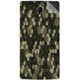 Snooky Printed Camouflage Camo patterns Pvc Vinyl Mobile Skin Sticker For Intex Aqua Wing