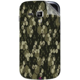 Snooky Printed Camouflage Camo patterns Pvc Vinyl Mobile Skin Sticker For Samsung Galaxy S Duos S7562