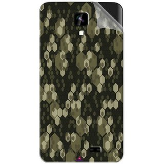 Snooky Printed Camouflage Camo patterns Pvc Vinyl Mobile Skin Sticker For Intex Aqua Y2 1G