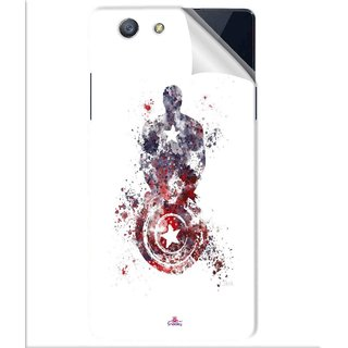 Snooky Printed Captain America painting Pvc Vinyl Mobile Skin Sticker For Oppo A31T