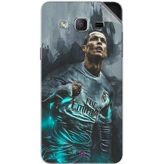 Snooky Printed cristiano ronaldo Pvc Vinyl Mobile Skin Sticker For Samsung Galaxy On5 Pro