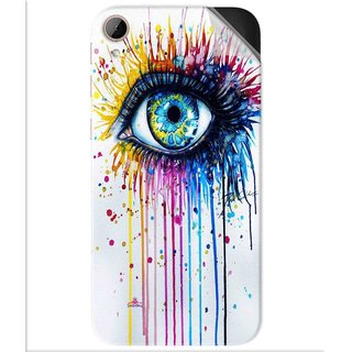 Snooky Printed eye artists Pvc Vinyl Mobile Skin Sticker For Htc Desire 830