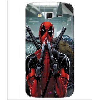 Snooky Printed Deadpool Pvc Vinyl Mobile Skin Sticker For Samsung Galaxy Grand 2