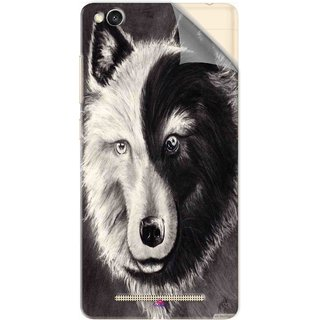 Snooky Printed Fox Yin Yang Pvc Vinyl Mobile Skin Sticker For Xiaomi Redmi 3S