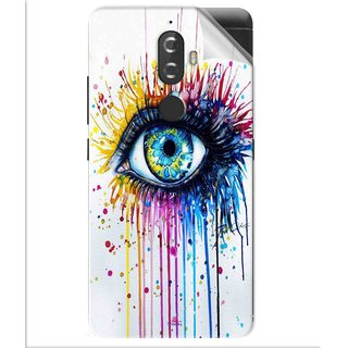 Snooky Printed eye artists Pvc Vinyl Mobile Skin Sticker For Lenovo K8