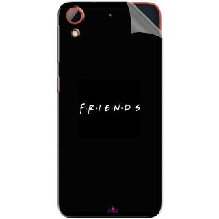 Snooky Printed Friends Pvc Vinyl Mobile Skin Sticker For HTC Desire 628