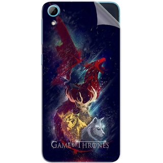Snooky Printed Game of Thrones Pvc Vinyl Mobile Skin Sticker For HTC Desire 826