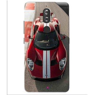 Snooky Printed Ford GT Racing Car Pvc Vinyl Mobile Skin Sticker For Lenovo K8 Plus