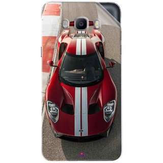 Snooky Printed Ford GT Racing Car Pvc Vinyl Mobile Skin Sticker For Samsung Galaxy On8