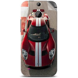 Snooky Printed Ford GT Racing Car Pvc Vinyl Mobile Skin Sticker For Htc One M8