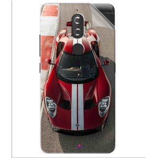 Snooky Printed Ford GT Racing Car Pvc Vinyl Mobile Skin Sticker For Lenovo K8