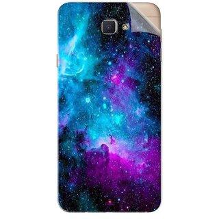 Snooky Printed Galaxie spirale Pvc Vinyl Mobile Skin Sticker For Samsung Galaxy J7 Prime