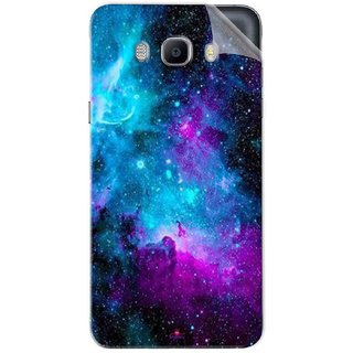 Snooky Printed Galaxie spirale Pvc Vinyl Mobile Skin Sticker For Samsung Galaxy On8