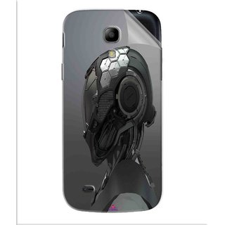 Snooky Printed Futuristic Helmet Pvc Vinyl Mobile Skin Sticker For Samsung Galaxy S4
