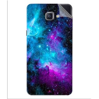 Snooky Printed Galaxie spirale Pvc Vinyl Mobile Skin Sticker For Samsung Galaxy A9 Pro