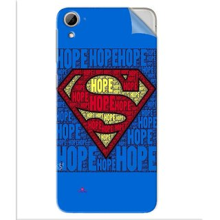 Snooky Printed Hope Super Man Pvc Vinyl Mobile Skin Sticker For Htc Desire 826
