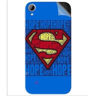 Snooky Printed Hope Super Man Pvc Vinyl Mobile Skin Sticker For Htc Desire 830