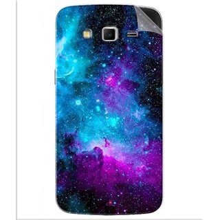 Snooky Printed Galaxie spirale Pvc Vinyl Mobile Skin Sticker For Samsung Galaxy Grand 2