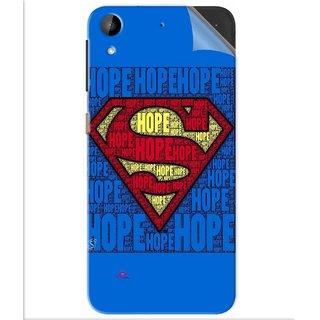 Snooky Printed Hope Super Man Pvc Vinyl Mobile Skin Sticker For Htc Desire 630
