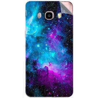 Snooky Printed Galaxie spirale Pvc Vinyl Mobile Skin Sticker For Samsung Galaxy J5 (2016)