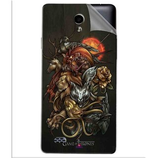 Snooky Printed game of thrones wallpaper Pvc Vinyl Mobile Skin Sticker For Oppo Joy 3