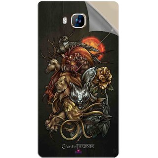 Snooky Printed game of thrones wallpaper Pvc Vinyl Mobile Skin Sticker For LYF Wind 2