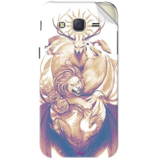 Snooky Printed game of thrones illustration Pvc Vinyl Mobile Skin Sticker For Samsung Galaxy J5