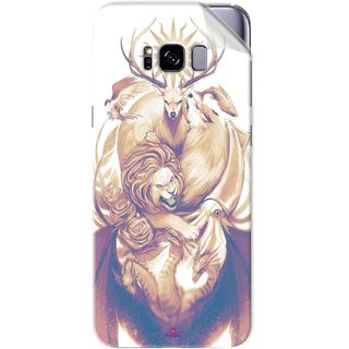 Snooky Printed game of thrones illustration Pvc Vinyl Mobile Skin Sticker For Samsung Galaxy S8
