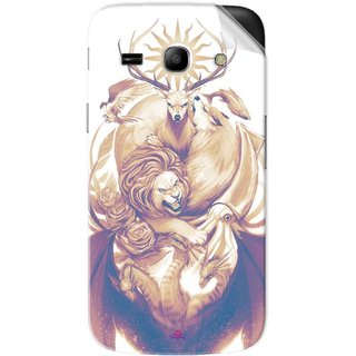 Snooky Printed game of thrones illustration Pvc Vinyl Mobile Skin Sticker For Samsung Galaxy Star Advance
