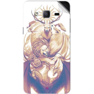 Snooky Printed game of thrones illustration Pvc Vinyl Mobile Skin Sticker For Samsung Galaxy On5