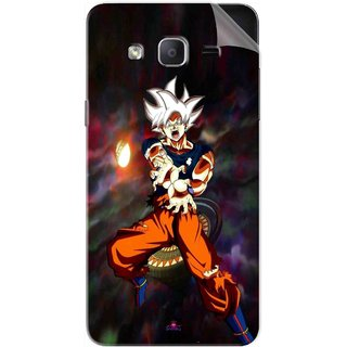 Snooky Printed Goku Pvc Vinyl Mobile Skin Sticker For Samsung Galaxy On5