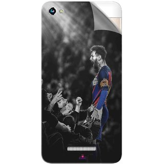 Snooky Printed lionel messi wallpaper 2017 Pvc Vinyl Mobile Skin Sticker For Micromax Canvas Hue 2
