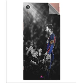 Snooky Printed lionel messi wallpaper 2017 Pvc Vinyl Mobile Skin Sticker For Sony Xperia x1a Ultra