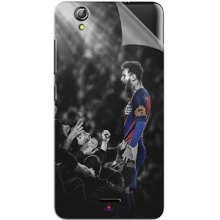 Snooky Printed lionel messi wallpaper 2017 Pvc Vinyl Mobile Skin Sticker For Gionee Pioneer P5 mini