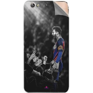 Snooky Printed lionel messi wallpaper 2017 Pvc Vinyl Mobile Skin Sticker For Gionee Elife S6
