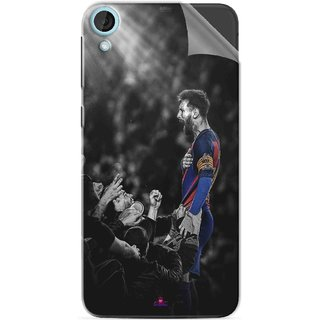 Snooky Printed lionel messi wallpaper 2017 Pvc Vinyl Mobile Skin Sticker For HTC Desire 820