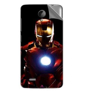 Snooky Printed Iron Man Heart Pvc Vinyl Mobile Skin Sticker For Vivo Y22