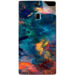 Snooky Printed iphone background Pvc Vinyl Mobile Skin Sticker For Micromax Canvas 6