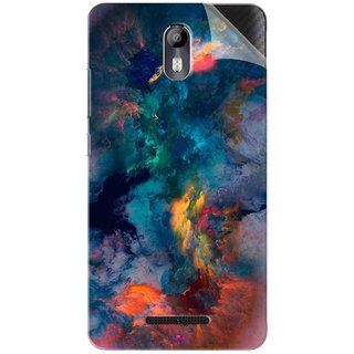 Snooky Printed iphone background Pvc Vinyl Mobile Skin Sticker For Micromax Canvas Evok E483