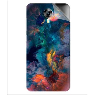 Snooky Printed iphone background Pvc Vinyl Mobile Skin Sticker For Micromax Canvas Express 2 E313